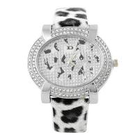 China Novelty Stainless Steel Womens Quartz Watches With Diamond Watch Case on sale