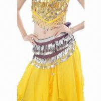 China Belly Dance Hip Leaves Scarf on sale