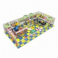 Buy cheap Indoor Playground Equipment with Promotional Purposes, Customized Colors and from wholesalers