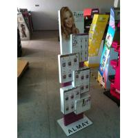 Best OEM Acrylic Pop Display Retail Cosmetic Counter Stand with Printings wholesale