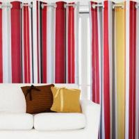 Best 100% polyester printed window curtain wholesale