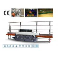 China 9 Spindles Glass Edger, Straight Line Glass Edging Machine,Straight Line Glass Edger on sale