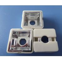Best 25 X 25mm Square High Power Led Lens 12mm Height , 90 Degree Viewing Angle wholesale
