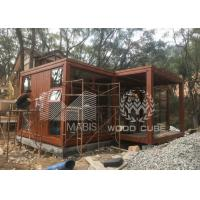 Best Customized Size Prefab Tiny House With Galvanized Q550 Light Steel Frame wholesale