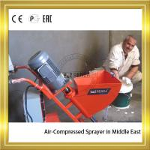 Best Air-compressed High Pressure Mortar Sprayer Machine With Power 2.2KW wholesale