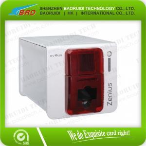 Best Evolis Zenius automatic pvc card machines plastic card printer wholesale