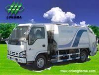 Best Garbage Truck ,  Garbage Container Truck,  Garbage Collector,  Garbage Compactor,  Refuse Compactor www.cnlonghorse.com wholesale