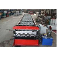 Best Galvanized Profile Floor Deck Roll Forming Machine 1200mm Raw Material Width wholesale