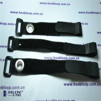 Best 25mm  Cord Straps , Strong Black  Straps With Corns Button OEM Design wholesale