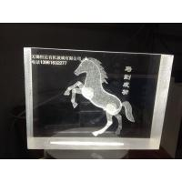 Buy cheap Acrylic 3D laser inner carve from wholesalers