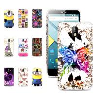 Best Beautiful 5.0 inch printed Gel Tpu back Blu Phone Case with stand for Studio G wholesale