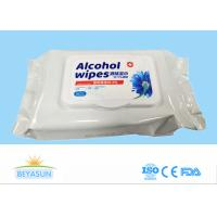 Buy cheap 20x15cm Disposable Wet Wipes Hospital Grade Disinfectant Wipes For Coronavirus from wholesalers