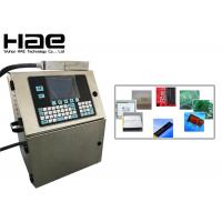 China Non Contact Industrial Inkjet Coding Machine / Inkjet Printing Printers on sale