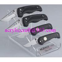 Best PMMA knife holder, plexiglass knife & fork display stand / acrylic knife display rack wholesale