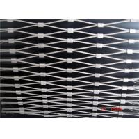China Ferrule Type Stainless Steel Wire Rope Mesh / Green Wall Mesh CE Approved on sale