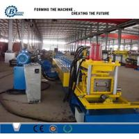 High Productivity Z Purlin Roll Forming Machine , Roof Panel Roll Forming Machine