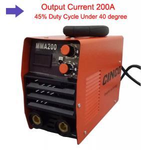 Best MMA 200 Inverter Welder / Aluminum Welding Equipment For Automobile Maintenance wholesale