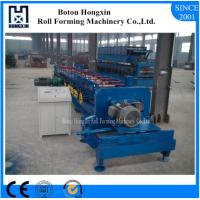 Best PLC Control CZ Purlin Roll Forming Machine Moulding Cutting 75mm Shafts wholesale