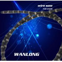 Best Vacuum brazed diamond wire saw for stone block cutting,diamond cutting wire for granite and marble cutting ,stone tools wholesale