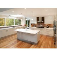 Best Quartz Countertop Commercial Kitchen Cabinets , L Shaped Kitchen Cupboards wholesale
