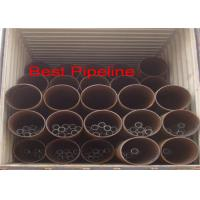 Best BS 6323 PT5 Grade Welded ERW Steel Pipe 273,000 Out Diameter With Square End wholesale