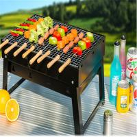 Best High Quality  Easy carry portable garden Tabletop charcoal bbq grill for 3 people wholesale