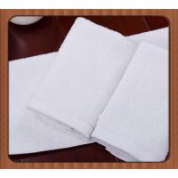 China 100% Good Quality white comfortable cotton durable used hotel towels/terry cloth towels on sale