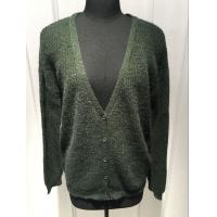 Best Ladies Oversize Button Front Cardigan Sweater , V Neck Cardigan Women'S Sping / Autumn wholesale