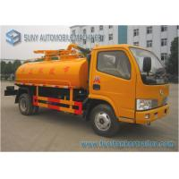 Best Elliptical Shaped 5000L 112hp Dongfeng Sanitation Truck For City Planning wholesale