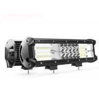 China 12 Inch High Output Led Light Bar LED Color Temperature 6000K-6500K on sale