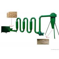 China Air Sawdust Dryer Machine Biomass Wood Chip Drying Equipment 400 - 500 KG on sale