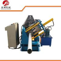 Best Seamless Round Gutter Downspout Roll Forming Machine / Steel Pipe Making Machine wholesale