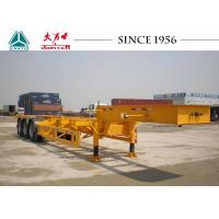 Best Gooseneck 40 FT 3 Axle Skeletal Container Trailer For Container Terminal wholesale