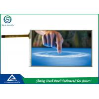 Buy cheap LCD Display 4 Wire Touch Screen Panels 5.2 Inch With ITO Film And ITO Glass product