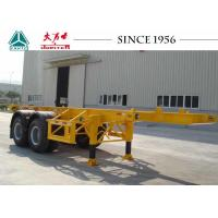 Best Long Lifespan Container Chassis Trailer 20 FT 2 Axle For Container Port wholesale