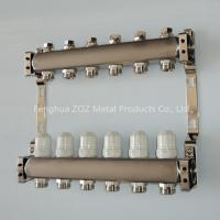 China Stainless steel Manifold for Radiant Heating and Water Separators on sale