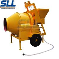 China Automatic 750 Liter Diesel Concrete Mixer , Large Capacity Hydraulic Concrete Mixer on sale