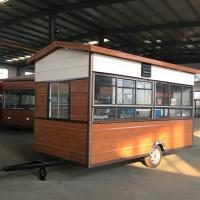 Best Rust Resistant Protective Coating Hot Dog Concession Trailer CE Certification wholesale