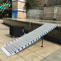 Best 500KG Portable Aluminum Alloy Roll Stair For Outdoor Event wholesale