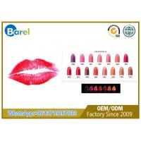 China Sunscreen Kiss Proof Long Lasting Lipstick Matte With Transparent Lid on sale
