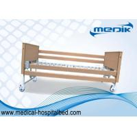 Best Disabled Care Electric Foldable Nursing Home Bed Locking Wheels wholesale
