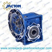 Best NMRV025 Worm Gearbox 4Nm to 15Nm Power 60w, 90w wholesale