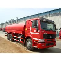 Best 6 x 4  Driving 260HP Fuel Tanker Trucks With Carbon Steel Tank wholesale