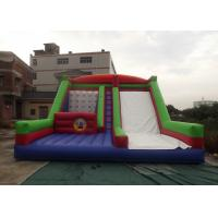 Best 8mx6m Commercial Inflatable Slide Interactive Playing Steady Enough To Against Wind wholesale
