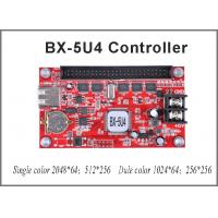 China BX-5U4 single/dual color control card Onbon LED USB port led controller 256*512 pixel for p10 led sign board painel led on sale