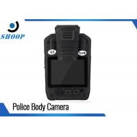 """2.0"""" LCD Small Police Officers Wearing Body Cameras 1296P Motion Detection"""