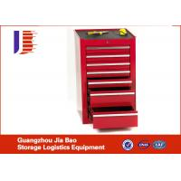 Best Blackish Red Movable Industrial Garage Storage Cabinets With Powder Coating wholesale