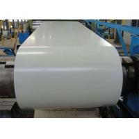 Best Corrugated Roof / Wall Aluminum Color Steel Coil Strip 0.5MM Thickness wholesale