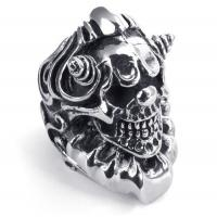 Best Tagor Jewelry Super Fashion 316L Stainless Steel Casting Rings Collection PXR028 wholesale