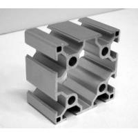 Buy cheap 6063 T5 power coating aluminium extruded profiles manufacture China from wholesalers